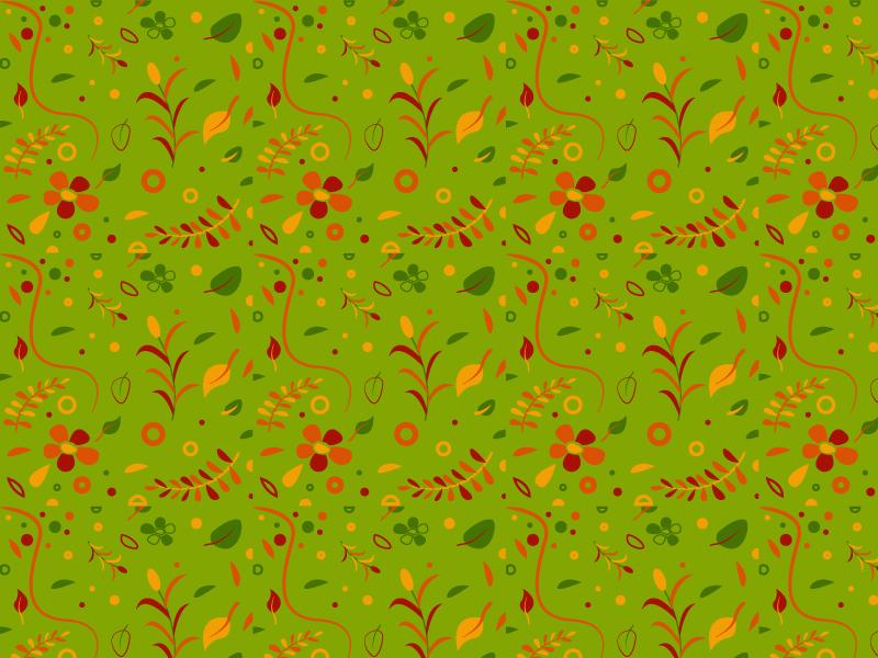 Background Pattern -  #dailyui - 059 art floral nature green pattern design pattern art pattern graphic design vector graphics daily ui illustration daily challange dailyui design mumbai india