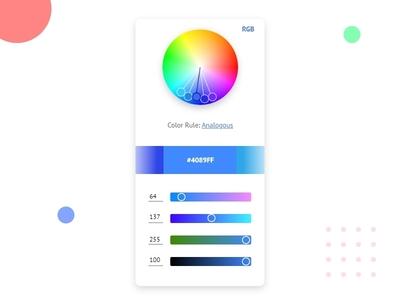 Color Picker - #dailyui - 060