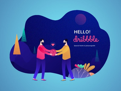 Hello dribbble! This is my first shot.
