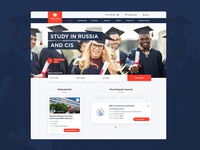 High schools catalog responsive website
