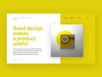 Dieter Rams — Ten principles for good design
