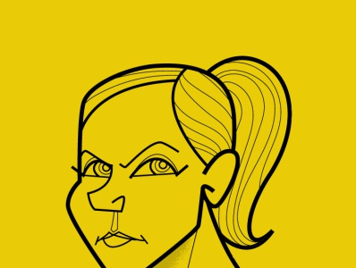 Kim Wexler adobe illustrator stay safe diego riselli breaking bad saul goodman vector illustration adobeillustrator adobe creative cloud cartoon retro midcenturymodern vector fanart giselle rhea seehorn better call saul kimwexler