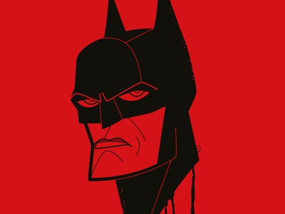 The Batman caricature mattreeves fanart adobeillustrator adobe creative cloud retro diego riselli vector dccomics robert pattinson the batman