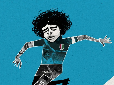 AD10S Diego Armando Maradona diego riselli illustration rip soccer argentina napoli pibe de oro ad10s d10s diego armando maradona maradona
