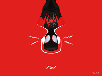 Spider-Verse 2 illustration adobe creative cloud 2020 adobe illustrator cc vector vector illustration spiderverse 2 poster fan art miles morales marvel spiderverse spiderman