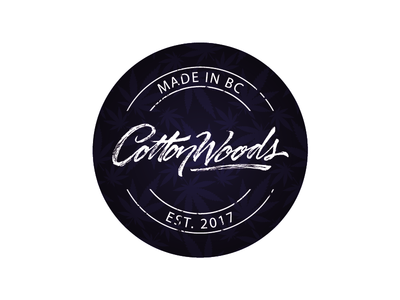 Label Design of lid for CottonWoods extracts