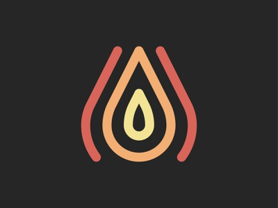 Weheat Logo Concept | Biofuel Company concept line lines bright colors fuel energy hands briquette wooden warm biotech biofuel logodesign fire mark icon simple modern logo