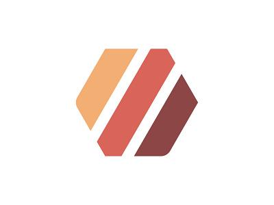 Weheat Logo Concept | Energy Company logotype lines hexagon bold warm logodesign concept logo design energy biofuel icon simple badge modern mark logo