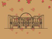 Tabatabaei House Illustration