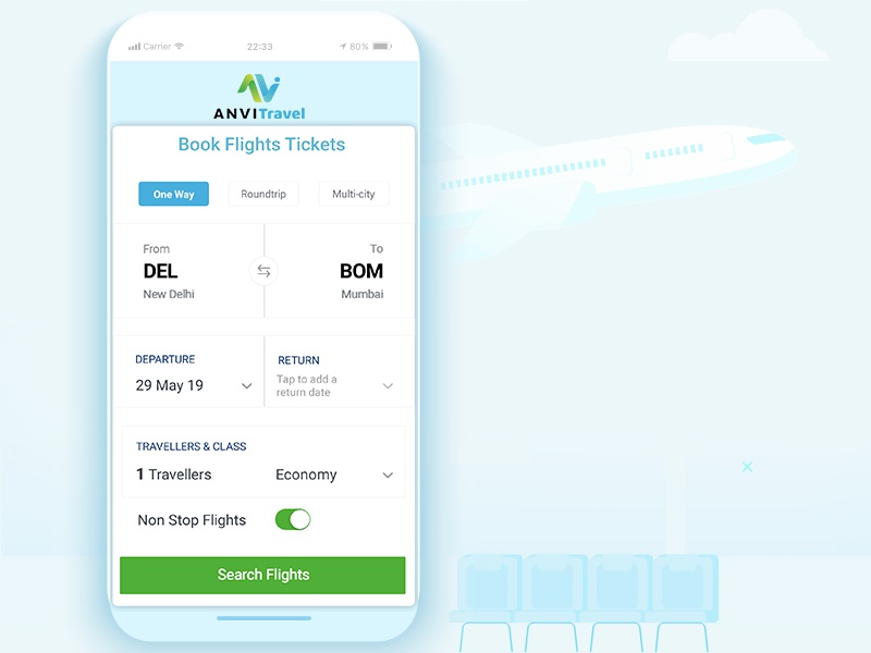 Behance travel app