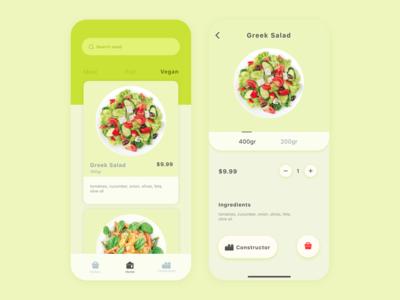 Salad app