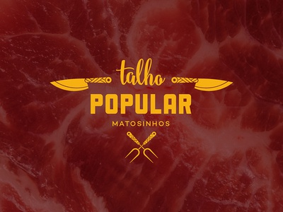 Popular Butchery / Talho Popular - Brand butchery porto popular meat talho branding