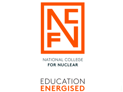 National College For Nuclear corporate branding graphic design logo brand identity design branding