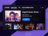 DailyUI (025 Day) — TV App