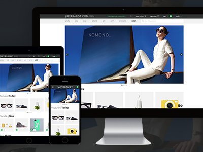 Superbalist.com Responsive Website