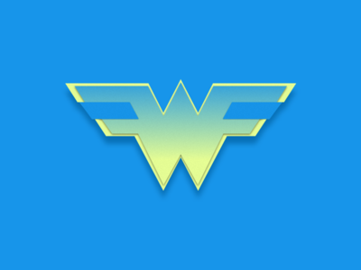 W by Martina Diyanova via dribbble
