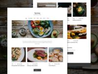 Culinary workshops website