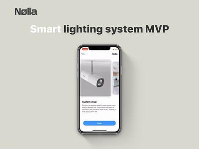 Nolla app MVP mvp ux animation motion ios app design ui