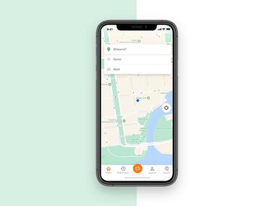 Taxi. app - redesign concept