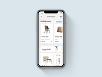 Furniture Store App Concept