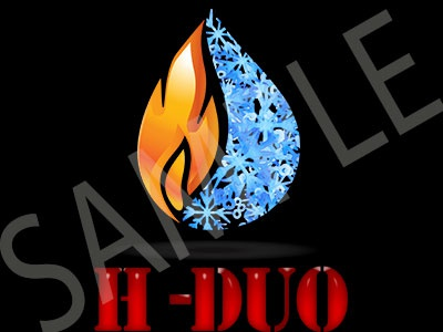 "Brandmark Air Conditioning Company Logo named ""H-DUO"""