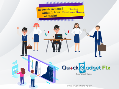 "Creative Banners Design for ""Quick Gadget Fix"" Brand"
