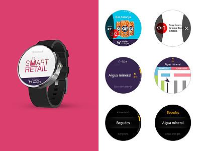 Smartretail iot ios android foodie uidesign visual ui appmobile mobile app