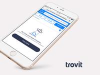 Empty Screen Trovit web app