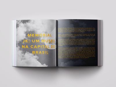 JK Memorial Opening chapter typography book design book