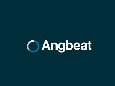 Angbeat Visual System color typography branding design logo