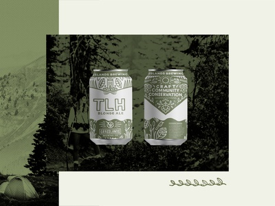 Grasslands Brewery Beer Can Label Design