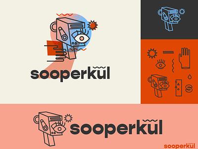 Sooperkul brand identity brand identity designer film brand film production super 8 visual identity brand identity