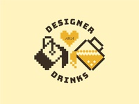 Designer Drinks Graphic