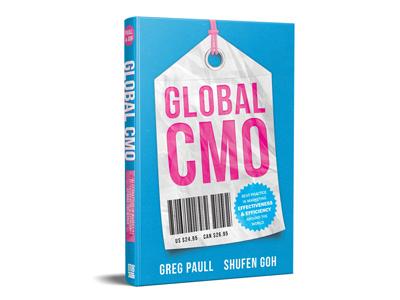 Global CMO print book cover design