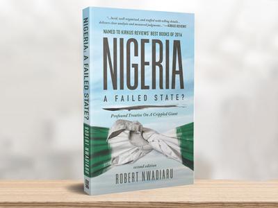 Nigeria: A Failed State? print book cover design