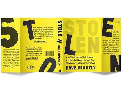 Stolen Book Jacket mockup graphicdesign books print typogaphy bookdesign bookcoverdesign