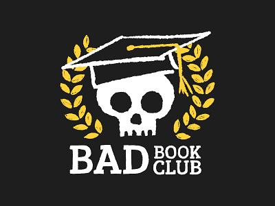 Bad Book Club vector logo design illustration graphicdesign logo design