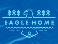 Eagle Home shirt for Hostelling International