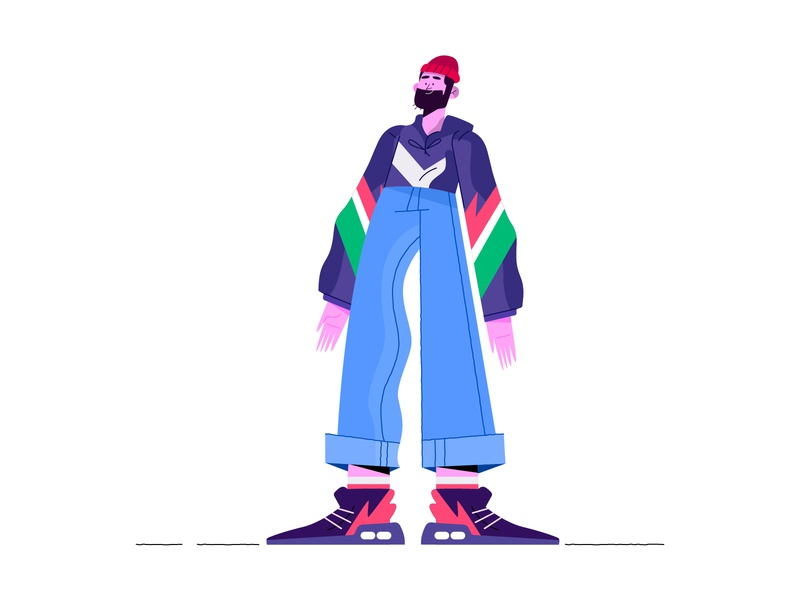 Character Design animation design minimal characters illustration character
