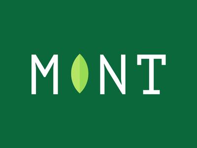 Linux Mint minimal logo linux mint