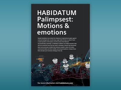 Poster for HABIDATUM urbanism science poster