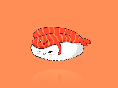 Sushi Love design valentine clothes t-shirt procreate art procreate app procreate hug ipadpro ipad artwork art kawaii art kawaii lovers lovely love sushi