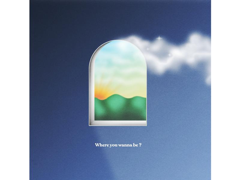 window art abstract gradient color colours graphics illustration cover artwork graphic design illustraion artwork