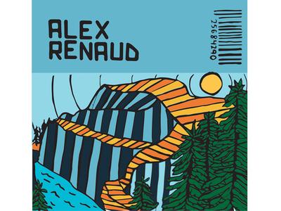 Album Cover Design Concept for Alex Renaud
