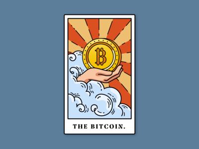 'The Bitcoin' Tarot Card