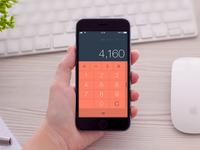 DailyUI Challenge 004: Calculator Redesign