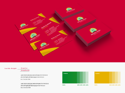Business card Menara Nour Immobilier