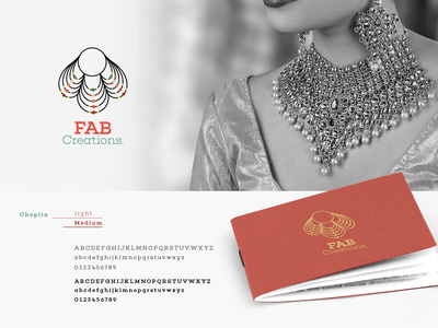 FAB Creations logo branding design identity logodesign brand design corporate branding corporate identity corporate design brand vector business design simple idea battik colors branding brand identity logo