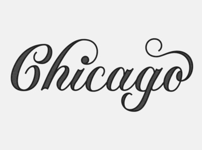 Home sweet home, Chicago letters logo chicago typography lettering design illustration type