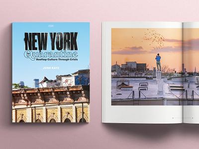 New York in Quarantine typography type design book